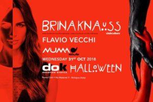 DOK Hallowen Party 2018  | BRINA KNAUSS – NUMAclub (Bologna – Italy)