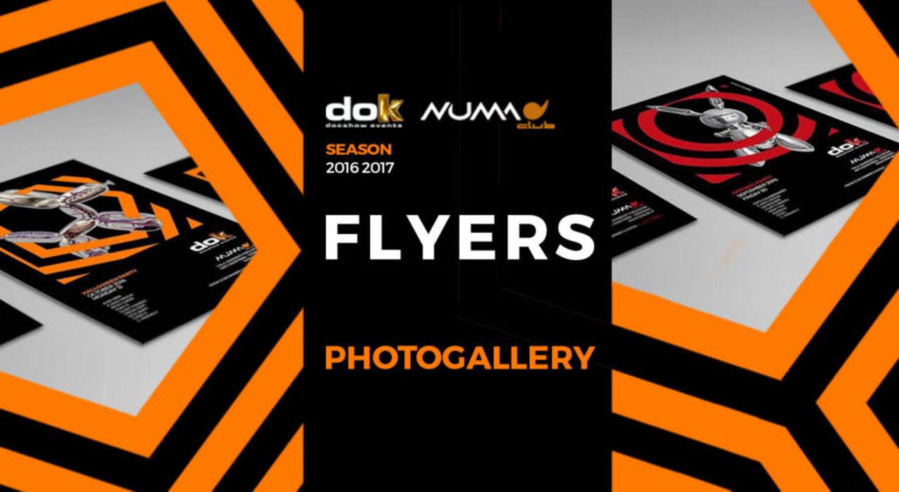 FLYERS DOK docshow events (season 2016-2017)