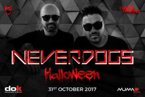 Halloween Party DOK – Neverdogs Flavio Vecchi Lorenzo De Blanck