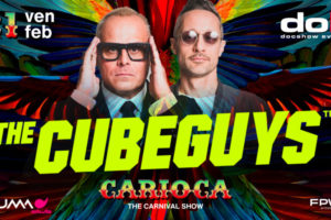 20° Carnevale Dok Docshow – The Cube Guys @Numa club